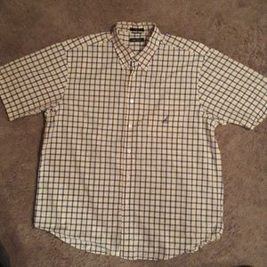 Nautica short sleeve button down shirt